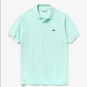 Authentic Lacoste Mint Green Polo Collar Shirt 👕